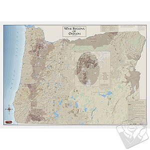 Wine Map Of Oregon