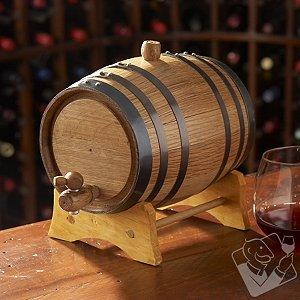 Mini Oak Wine Barrel