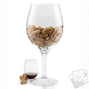 Oversized Wine Glass Cork Holder