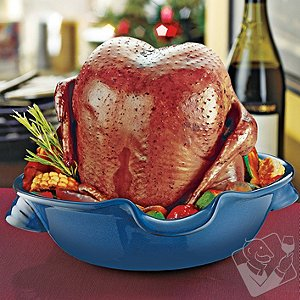 Wine Chicken Cooker (Blue)