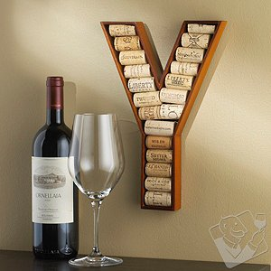 Alphabet Letter Wine Cork Kit