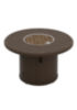 banchetto 42 round fire pit built in