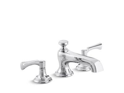 bellis deck mount bath faucet lever