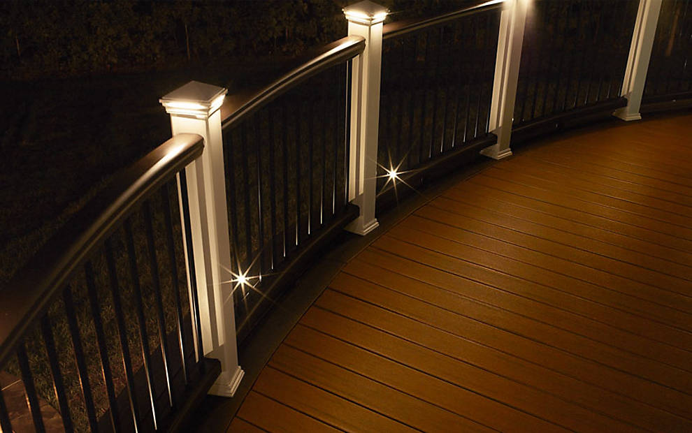 Deck Stair Railing Ideas