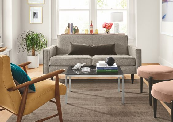 Seating Ideas for a Small Living Room - Ideas & Advice ... on Small Space Small Living Room Ideas  id=19156