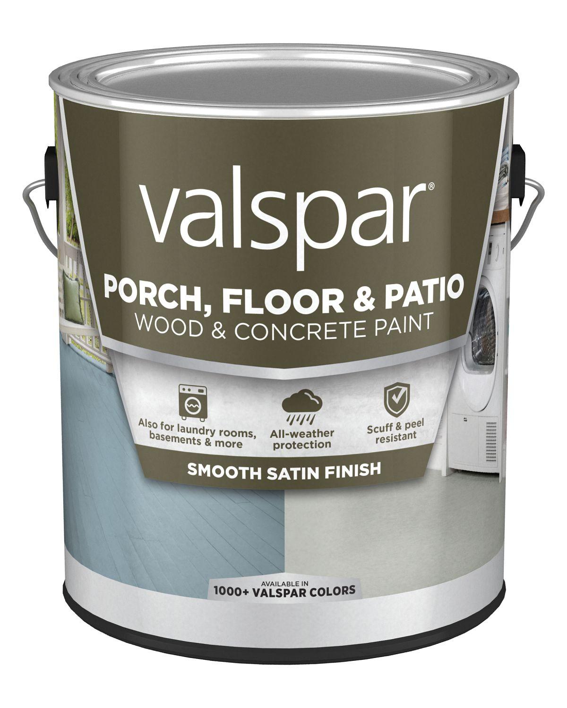 valspar latex satin porch floor patio paint