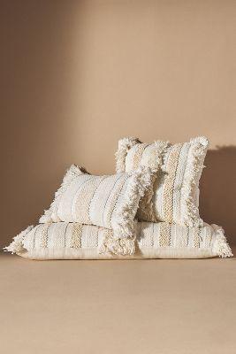 white boho pillow online
