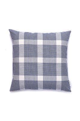caitlin wilson navy petite plaid pillow