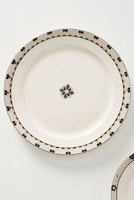 bistro tile dinner plate