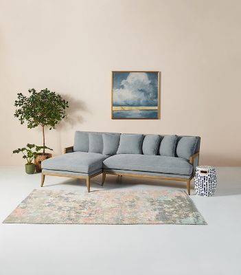 florence l shaped sectional