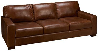 soft line pista leather sofa