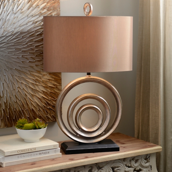 Circles Table Lamp | Kirklands on Lanterns At Kirklands id=17978