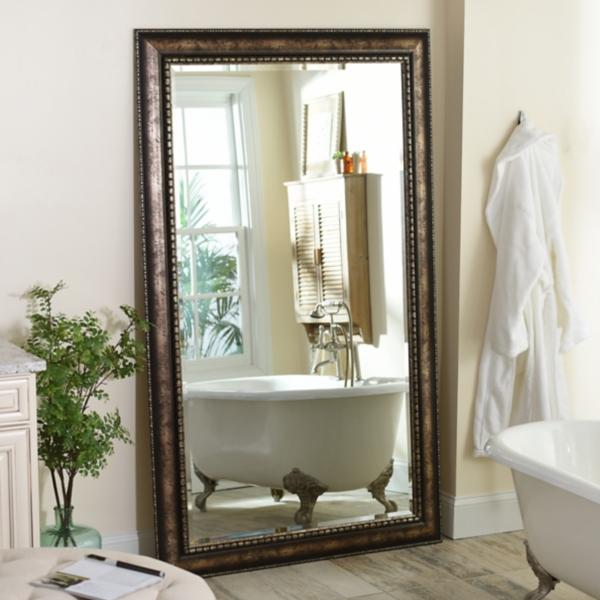 Antique Silver Leaner, 46x76 in. Mirror | Kirklands on Floor Mirrors Decorative Kirklands id=37960