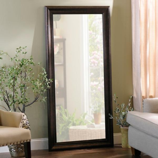 Beaded Bronze Framed Mirror, 32x66 in. | Kirklands on Floor Mirrors Decorative Kirklands id=89658