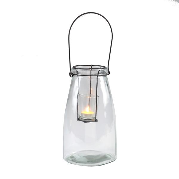 Clear Glass Lantern | Kirklands on Lanterns At Kirklands id=59708