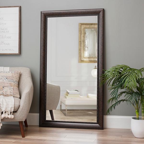 Bronze Full Length Mirror, 38x68 in. | Kirklands on Floor Mirrors Decorative Kirklands id=14185