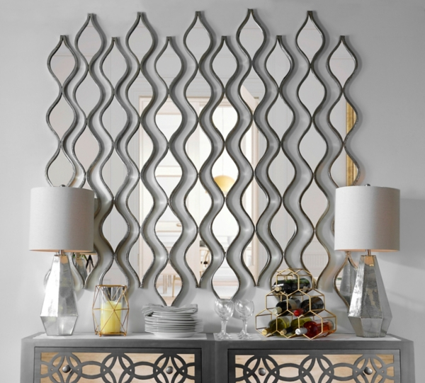 Single Silver Teardrop Panel Mirror, 6.25x58.75 | Kirklands on Floor Mirrors Decorative Kirklands id=19220