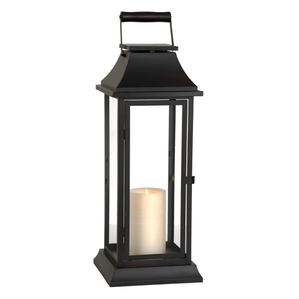 Dark Bronze Metal Lantern | Kirklands on Lanterns At Kirklands id=71832