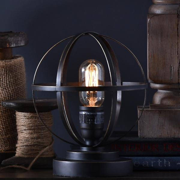 Vintage Metal Sphere Lamp | Kirklands on Lanterns At Kirklands id=99711
