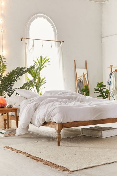 Bohemian Platform Bed   Urban Outfitters on Modern Boho Bed Frame  id=85789