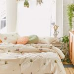 Georgine Embroidered Floral Duvet Cover Urban Outfitters Canada