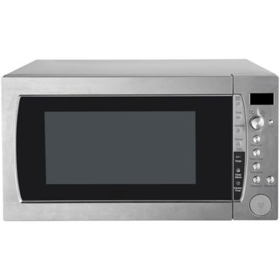 2 2 cu ft 1250 watt countertop microwave oven with stainless steel exterior