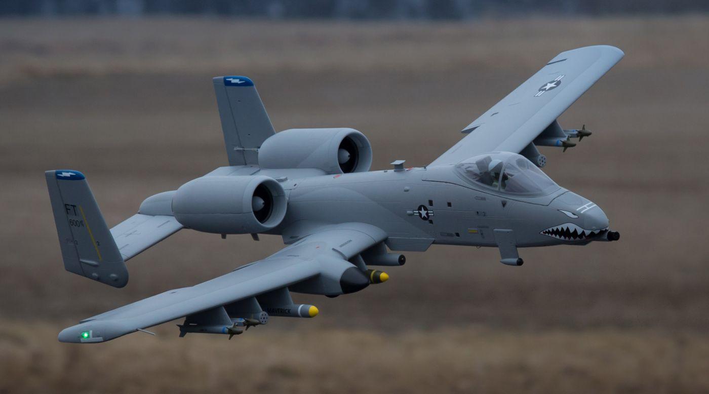 A-10 Thunderbolt II PNP, EDF 70mm Fans   Horizon Hobby