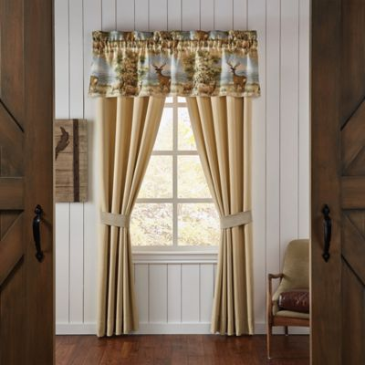 Croscill 174 Cold Springs Window Curtain Panels And Valance
