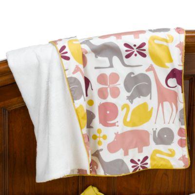 Dwell Studio Gio Lemon Stroller Blanket Buybuy BABY