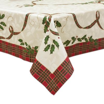 Lenox Holiday Nouveau Melody Tablecloth Bed Bath Amp Beyond