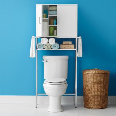 Real Simple Solutions Space Saving Bath Cabinet With