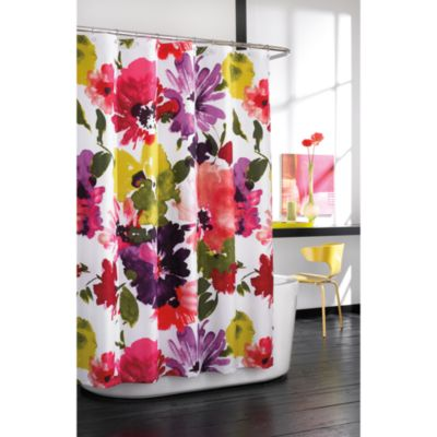 Anthology Avery Fabric Shower Curtain Bed Bath Amp Beyond