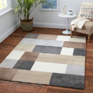 Buy 5 foot 3 inches x 7 foot Area Rug from Bed Bath   Beyond Medley Block Multicolor 5  x 7  Area Rug