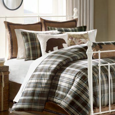 Hadley Plaid Comforter Collection Bed Bath Amp Beyond