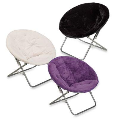 Rabbit Faux Fur Saucer Chair Bed Bath Amp Beyond