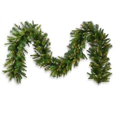 Buy Vickerman 25 Foot Cashmere Pine 18 Inch Pre Lit