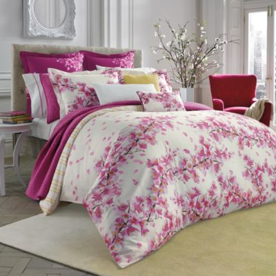 Bluebellgray Cherry Blossom Pink Comforter Set Bed Bath