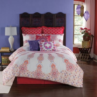 Anthology Melody Reversible Full Queen Comforter Set