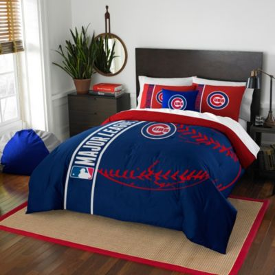 MLB Chicago Cubs Embroidered Comforter Set Www