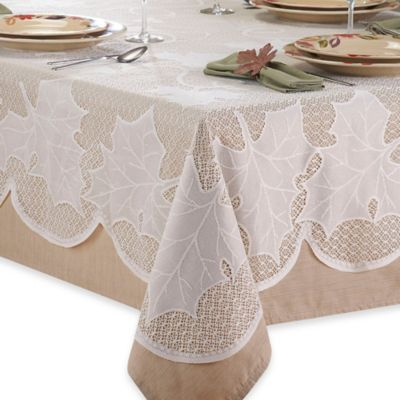 Ivory Lace Tablecloth Bed Bath Amp Beyond