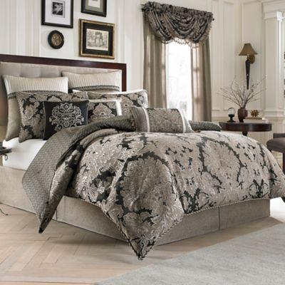 Croscill Augusta Reversible Comforter Set Bed Bath Amp Beyond