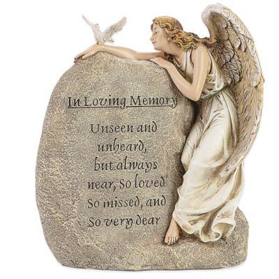 Josephs Studio Memorial Angel Garden Statue Bed Bath