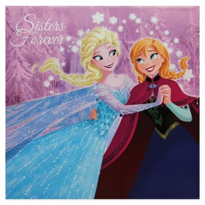 Disney Frozen Sisters Forever Wall Dcor Bed Bath Amp Beyond