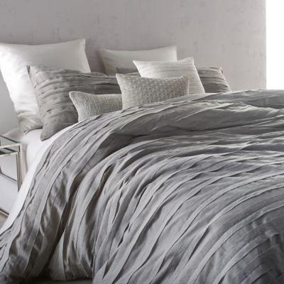 DKNY Loft Stripe TwinTwin XL Comforter Set In Grey