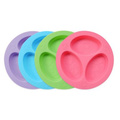 Oogaa 4 Oz Silicone Divided Plate Buybuy BABY