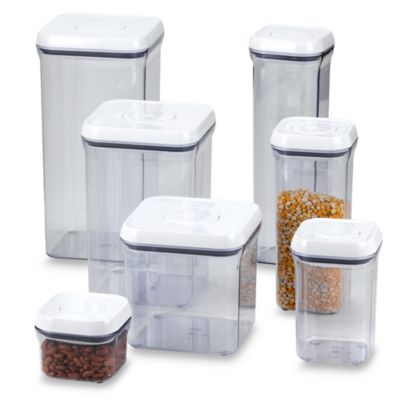 OXO Good Grips Square Food Storage Pop Containers Bed