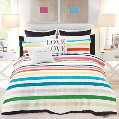 Kate Spade New York Candy Stripe Comforter Set Www