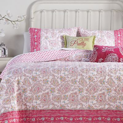 Jessica Simpson Noni Reversible Quilt Collection Bed