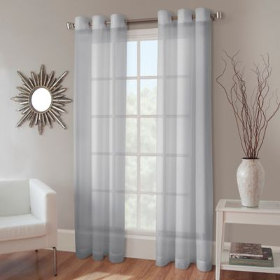 Buy Blue Sheer Curtains From Bed Bath Amp Beyond