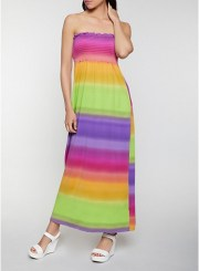 Smocked Maxi Dress Size: Medium